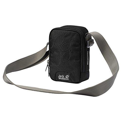 Jack Wolfskin Umhängetasche SECRETARY, black, 19 x 13 x 4 cm, 86000-6000 Mini-tasche Für Männer
