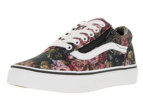 Vans Donna Gunmetal Nero Old Skool Zip Sneakers Nero