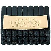 Número y Sello de Cartas Establecer 4 mm Craft de acero de alto carbono Metal Punch Stamp Stamper (36 piezas set / A-Z y 0-9)