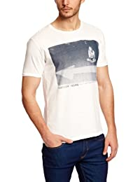 Selected Homme Stay Young Short Sleeve O-Neck J Printed Men's T-Shirt