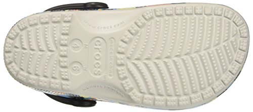 crocs Unisex-Erwachsene Clssctropicsclg Clogs Mehrfarbig (Pearl White)