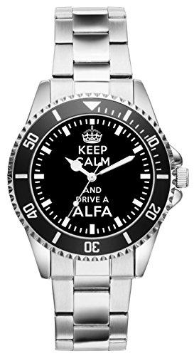 Geschenk für Alfa Romeo Fans Fahrer Kiesenberg Uhr 1646