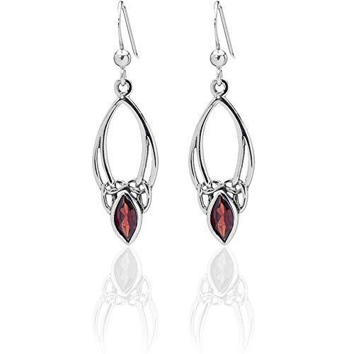 dtpsilver-925-sterling-silver-and-garnet-celtic-earrings