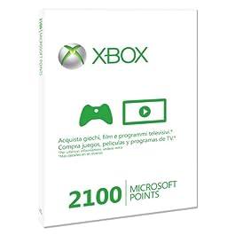 Xbox Live – Card 2100 Punti