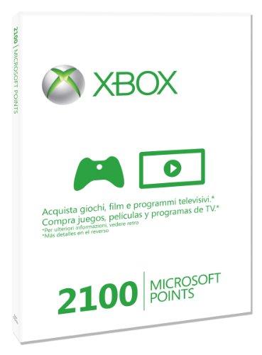 Microsoft - Tarjeta De 2.100 Puntos (Xbox 360)