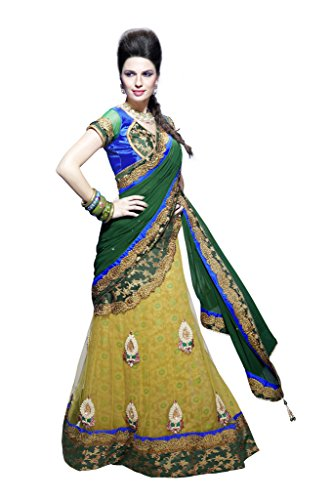 Mahotsav Multicolor Net Embroidered Designer Party Wear Saree  available at amazon for Rs.2345