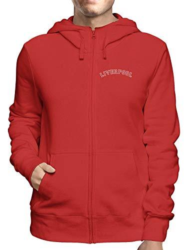 Sweatshirt Hoodie Zip Rot WC0465 Liverpool Liverpool Fenway