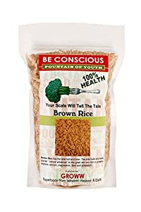 Beconscious High Quality and Nutritious Premium Brown Rice Pack of 500 GMS