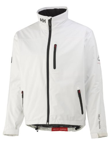 Helly Hansen Herren Segeljacke Crew Midlayer, Bright White, 5XL, 30253