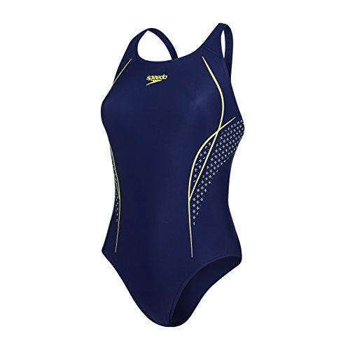 Speedo Women Start Shift Placement Powerback Swimwear