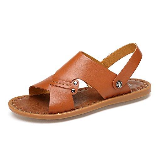 teenage sandali, uomini d'estate i sandali, uomini sulla spiaggia di scarpe,brown,trentotto US10/EU43/UK9/CN44
