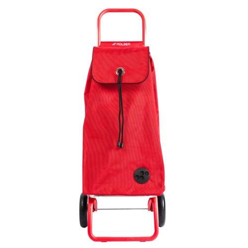 ROLSER RG Einkaufstrolley I MAX MF COLOR Rot