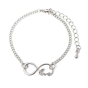 """Bracelet """"Amour Infini"""" Couleur: Argent"""