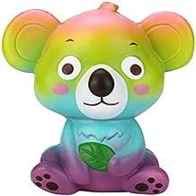 descompresión Juguetes, beikoard nuevo 12cm Cute Koala crema aromática Squishy juguete lento Rising correa de apretar juguete para niños regalo Stress Reliever juguete partido favorece juguete regalo teléfono celular colgante correa regalo, multicolor