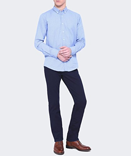 7 For All Mankind Hommes Jeans slimmy Lux Bleu Bleu