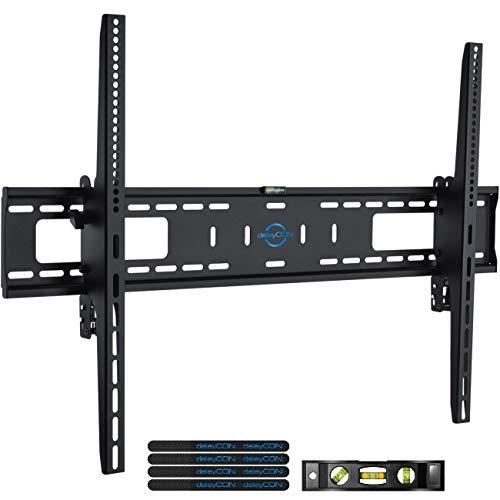 """deleyCON Universal TV Wandhalterung 60\""""-100\"""" Zoll (152-254cm) Neigbar - 75Kg - bis VESA 900x600 - Plasma LCD LED OLED TFT Curved Fernseher Halterung"""