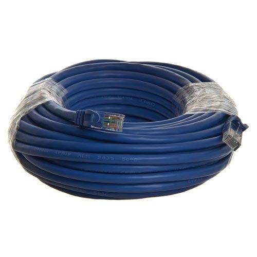 50ft Blau Patch-kabel (100 Stück Ethernet-Netwerk-Kabel, CAT6, 30 cm, RJ45-Stecker, blau, unterstützt Gigabit Ethernet und POE, von GearIT blau 50')