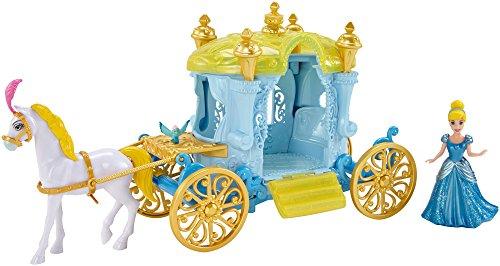 Mattel Disney Little Kingdom Magiclip Aschenputtels-Kutsche, Spielzeug