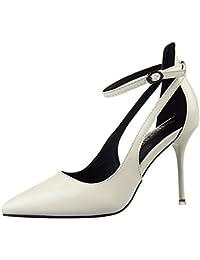 VulusValas Mujer Al Tobillo Bombas Zapatos  Zapatos de moda en línea Obtenga el mejor descuento de venta caliente-Descuento más grande