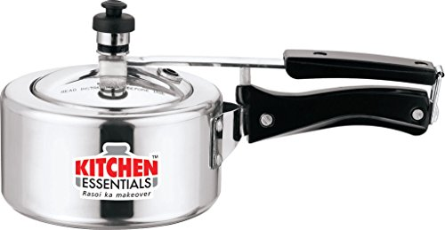 Kitchen Essentials Aluminium Pressure Cooker - 1.5 Litre INNER LID  available at amazon for Rs.815