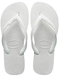 1ff364a1d57 Amazon.co.uk  White - Flip Flops   Thongs   Women s Shoes  Shoes   Bags
