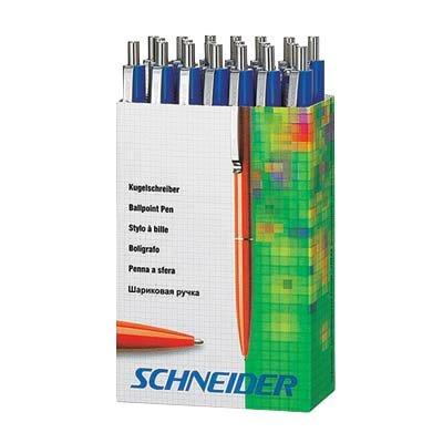 20 Schneider Kugelschreiber K15 / Schreibfarbe blau / Gehäusefarbe blau