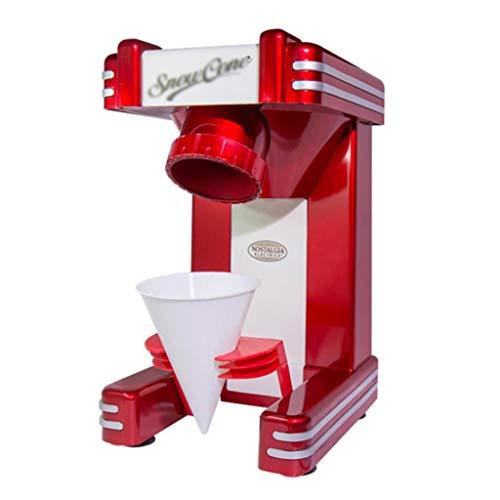 Ice Crusher, 40w Elektrische Ice Shaver-Maschine, Slush-Maschine, Kalte GeträNke, Obstdessert Und Cocktail FüR Den Haushalt Und Die Kommerzielle Nutzung