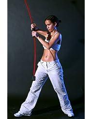 Flexi-Bar Standard Limited Edition - Barra flexible para entrenamiento, color azul