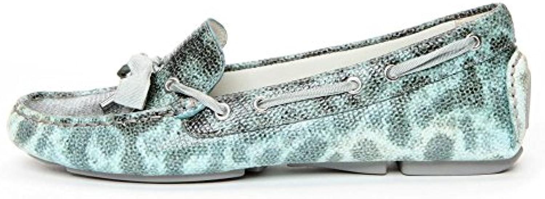 Donald J Pliner Frauen Verra Leder Loafers