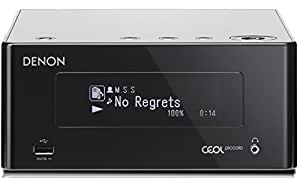 Denon DRA-N4 Netzwerk CEOL Piccolo Stereo Receiver (2x 40 Watt, Internetradio, DLNA, AirPlay, Bluetooth, Spotify Connect, App Steuerung) schwarz