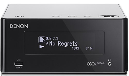 Denon DRA-N4 Netzwerk Stereo Receiver (2x 65 Watt, Internetradio, DLNA, AirPlay, Bluetooth,...