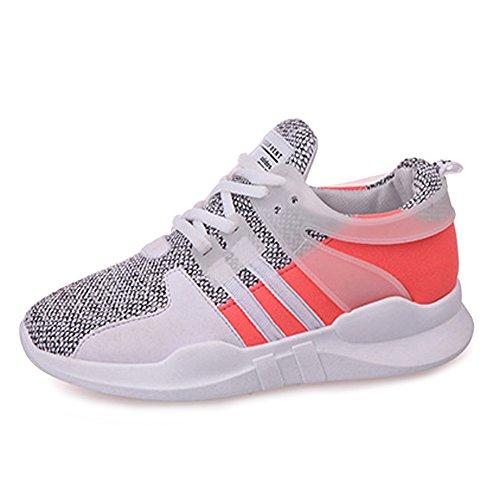 Damen Laufschuhe Atmungsaktives Schuhe Weiche Sohle Dämpfung Jogging Sport Fitnessschuhe Outdoor Sneaker
