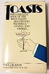 Toasts: The Complete Book of the Best Toasts, Sentiments, Blessings, Curses, and Graces by Paul Dickson (1981-08-01)