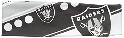 NFL Oakland Raiders Stretch Headband, White