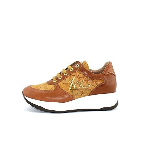 ALVIERO MARTINI 1°Classe Linea Junior N0045 Sneakers Scarpe Donna Lacci  Leather N 35 370ef963497