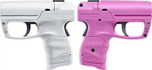 Walther Pfefferspray Pistole Reizstoffsprühgerät Tierabwehrgerät, Praktische Selbstverteidigung in modernem Design Verschiedene Farben verfügbar (Pink)