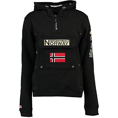 Geographical Norway - Felpa da donna Gymclass A Nero Medium