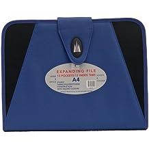 Cathedral FABBL - Clasificador de fuelle, tamaño A4, color azul