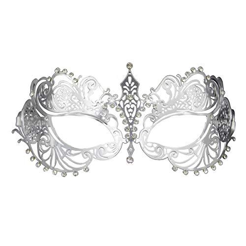 Crown Laser Cut Metall Damen Maskerade Maske Mardi Gras Maske (Splitter)