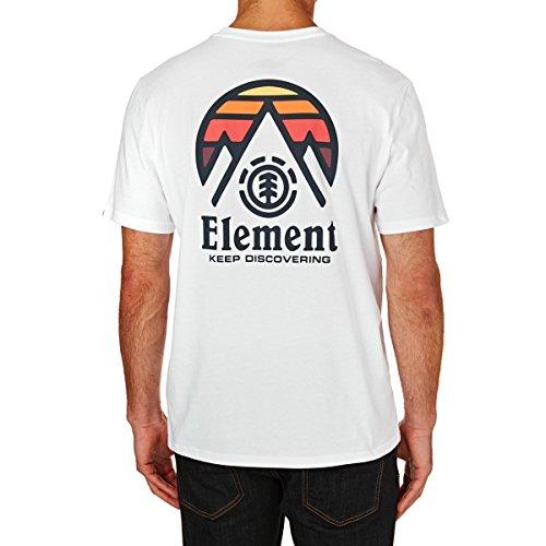 Element Tri Tip T-Shirt Weiß