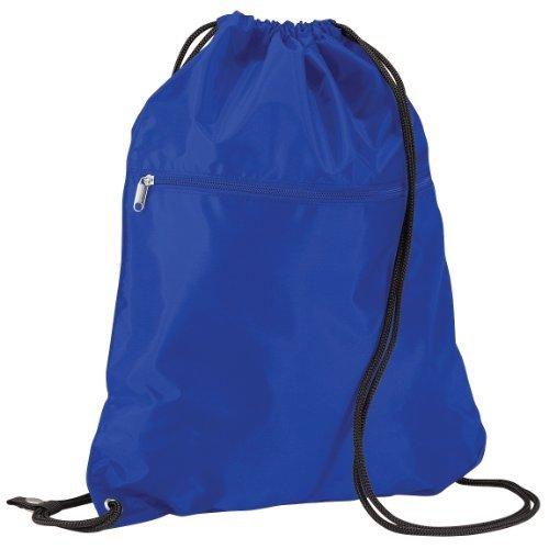 Imagen de quadra   saco o de cuerdas impermeable/resistente al agua modelo enhanced vis junior deporte/gimnasio 14 litros  talla única/azul eléctrico