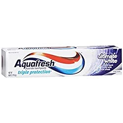 3 Pack - Aquafresh Ultimate Whitening Toothpaste 6oz Each