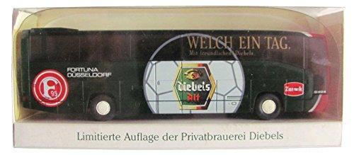 Preisvergleich Produktbild Wiking - Diebels Alt - Fortuna Düsseldorf - MB O 404 RHD - Reisebus - Bus