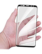 Own Shop™ Full Glue Premium Quality Tempered Glass Screen Protector For Samsung Galaxy S8 Plus / S9 Plus