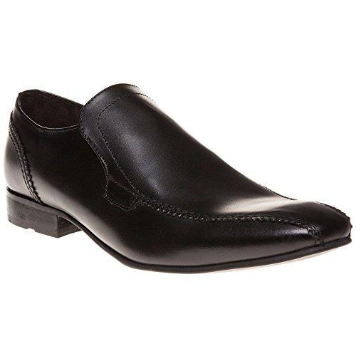 Base London Dude Homme Chaussures Noir