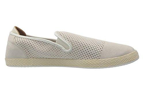 LACOSTE - Herren Slipper - Tombre - Weiß Schuhe in Übergrößen Weiß