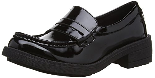 Rocket Dog Womens Tori Ramones Patent PU Loafers Black 3 UK, 36...