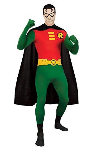 Rubbies - Disfraz de Batman Robin (Pegado al cuerpo) para hombre, talla M (215181)