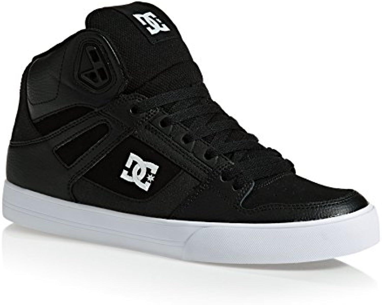 Zapatos DC Pure WC Negro-Blanco - En línea Obtenga la mejor oferta barata de descuento más grande