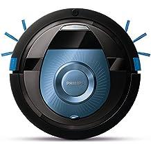 Philips SmartPro Compact Robot aspirador FC8774/01 - Aspiradoras robotizadas (Sin bolsa, Azul